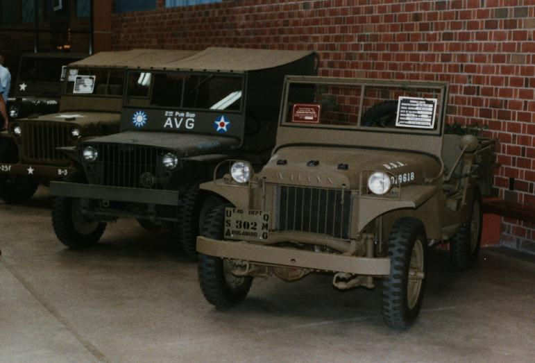 1941 Jeep Willys Ma. Willys MA Serial Numbers